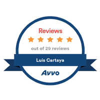 AVVO Rating Luis Cartaya