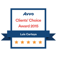 Avvo Clients Choice – Cartaya – 2015